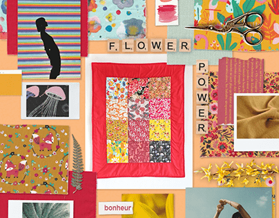 Moodboards animés by The MOODS