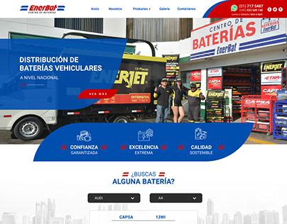 EnerBat   Desarrollo Web