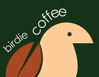 birdie coffee logo design✸✸✸