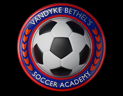 Vandyke Bethel's Soccer Academy 3D Logo Conversion