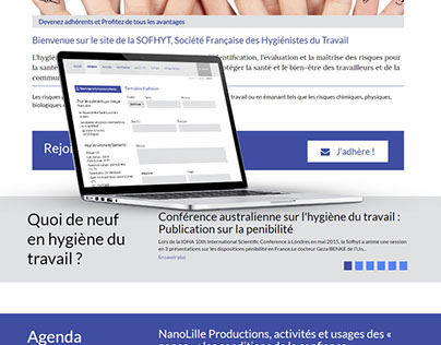 Site internet Sofhyt.fr