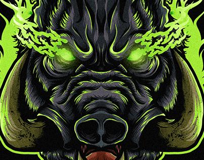 Braver Boar [Illustration]