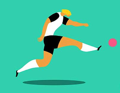 Juventus Players Illustration