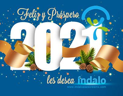 Diseño navideño y fin de año (varios clientes) 2020