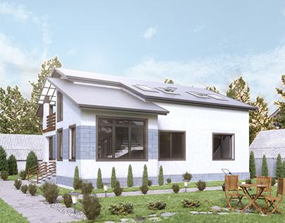 Визуализация загородного дома |Architectural Visual