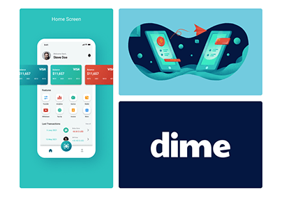 Dime App and Web Design