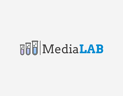 """Creation logo and guidebook for company """"MediaLAB"""""""