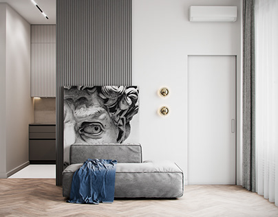 """Apartment in Moscow ZHK """"Silver Fountain"""""""