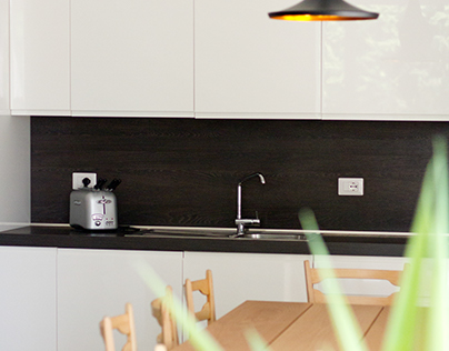 Kitchen design - Apartment A