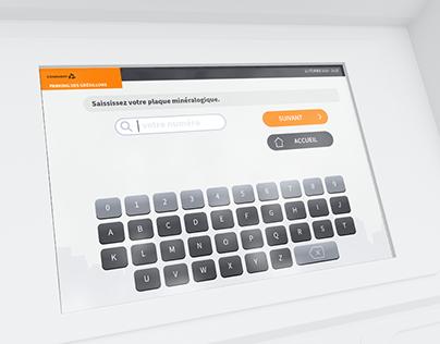 Conduent - Interface de borne de paiement