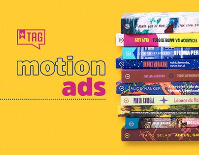 TAG Livros   Motion Ads