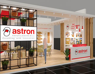 Astron Paper Stall at ICE 2018 Mumbai