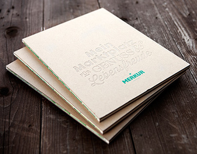 Merkur Brandbook - Publishing