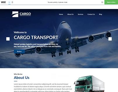 Cargo Service Company Website