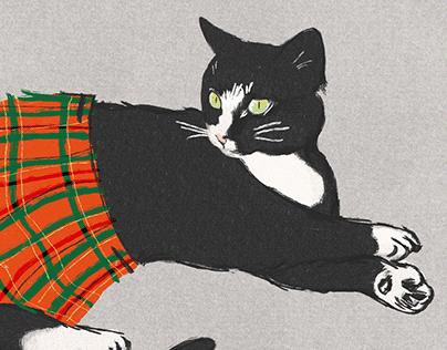 Kilted Kitty