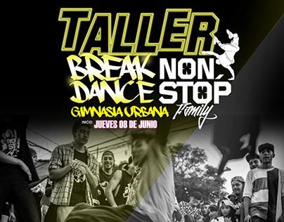 "Talle de Break dance ""Non stop family"" - Junio 2017"