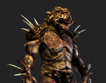 Boss Monster from Two Worlds II: Call of the Tenebrae