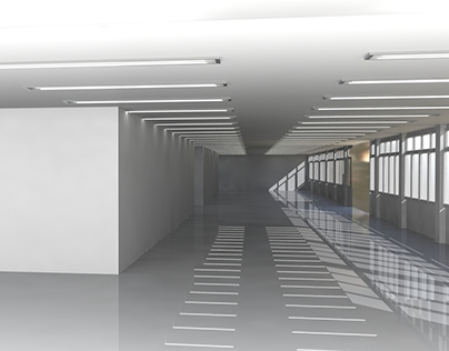 Simulação 3D - Shopping
