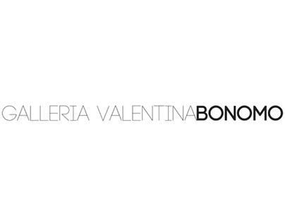 Visual identity: Galleria Valentina Bonomo