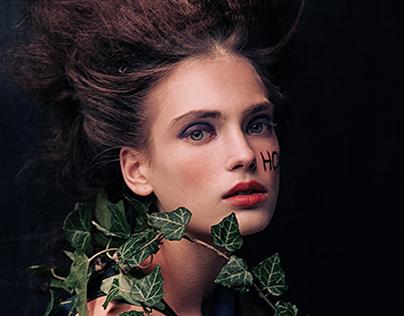 #31 Fading Beauty for HUF Magazine