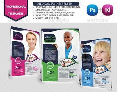 Health Business Flyer