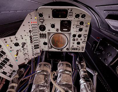Mercury Redstone Cockpit