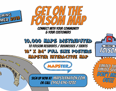Folsom // Caricaturas y diseño de Flyer