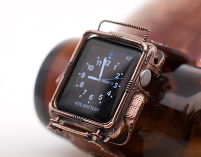 Steampunk Apple Watch Cover - 38 mm Series 0 - 3
