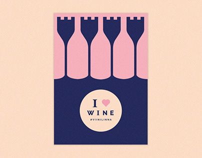 I love wine // festival identity