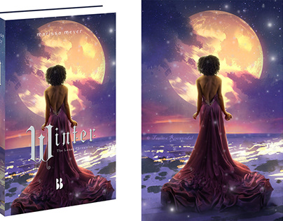 The Lunar Chronicles book cover work