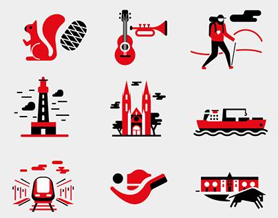 Pictogrammes - Communauté d'Agglomération Pays Basque