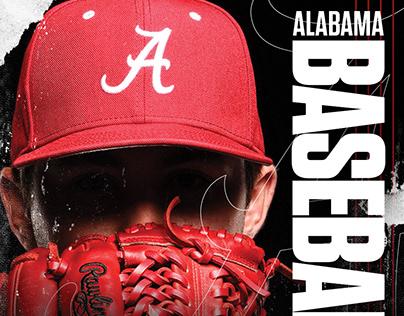 Alabama Baseball 2019 Social & Print Material