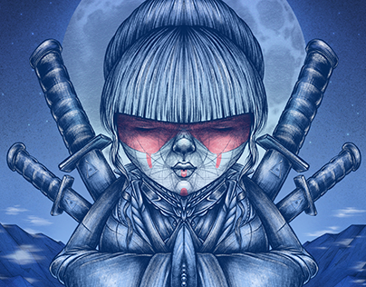 Warrior Woman fine art print