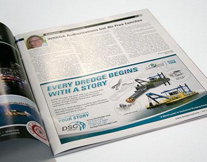 Custom Dredging Publication Ad