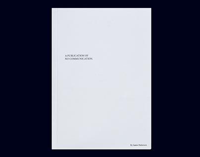 Publication of No Communication