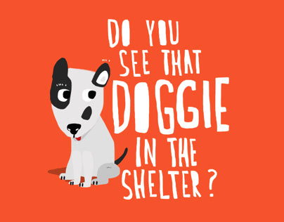 Do You See The Doggie In The Shelter?