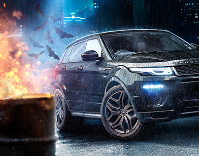 Range Rover Dark Knight Series