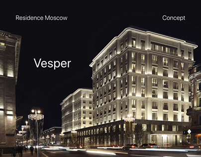 Redesign Concept Vesper - Luxury Residence in Moscow