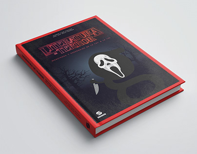 'Literatura de Terror' — Book Cover Design