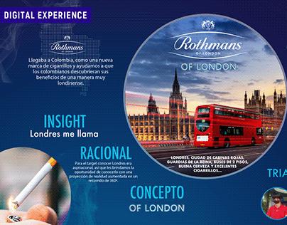 Rothmans - Digital Experience
