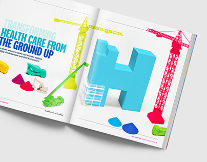 Harvard Business Review - Editorial Illustration