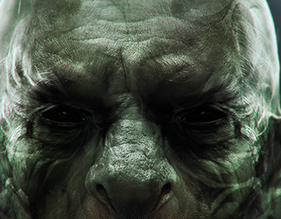 Orc Illustration - Digital Paint