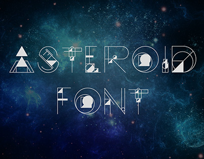 Asteroid Font - FREE FONT