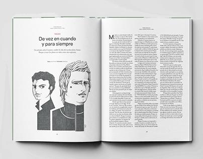 Libero soccer magazine.