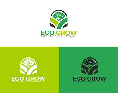 Eco Grow Logo Design