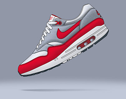 Nike Air Max 1 Illustration