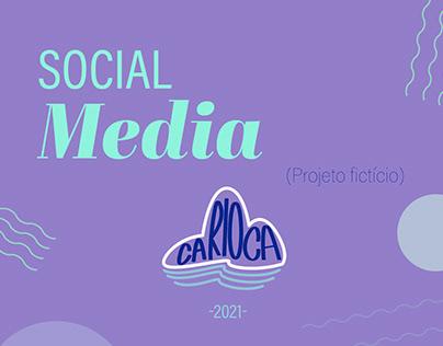 Social Media (projeto fictício)