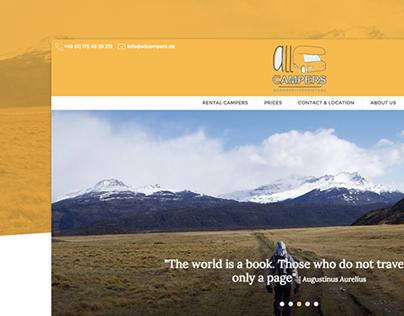 allCampers | Website