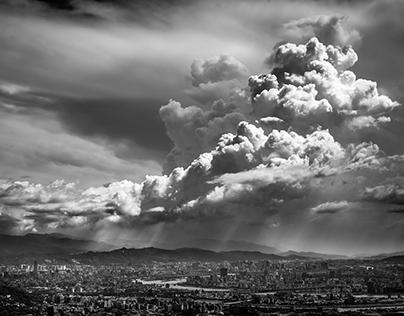 台北- 火山爆發?