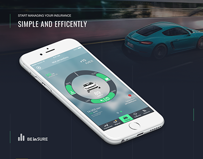 BEinSure - cars insurance app